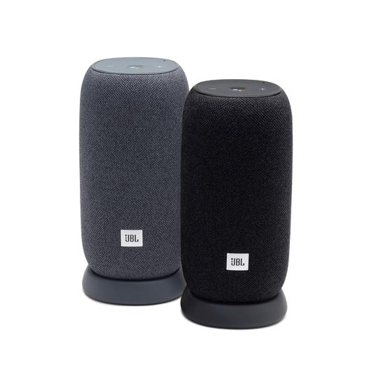 JBL Link Portable - Black - Portable Wi-Fi Speaker - Detailshot 2