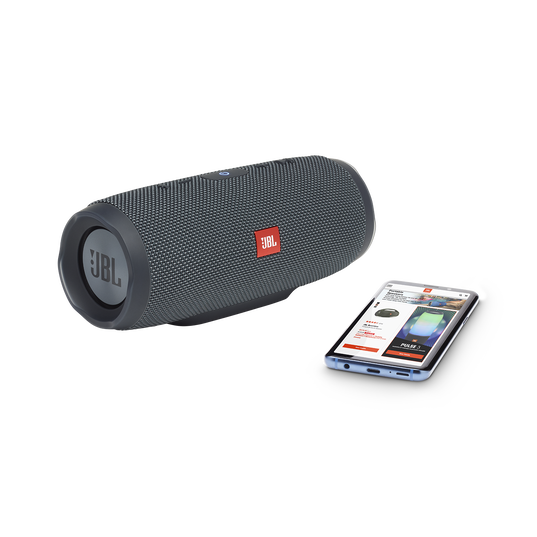JBL Charge Essential - Gun Metal - Portable waterproof speaker - Hero
