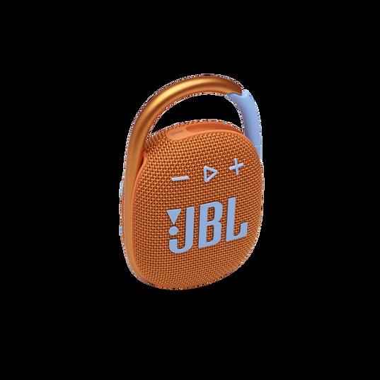 JBL CLIP 4 - Orange - Ultra-portable Waterproof Speaker - Hero