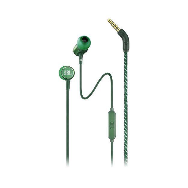 JBL LIVE 100 - Green - In-ear headphones - Hero