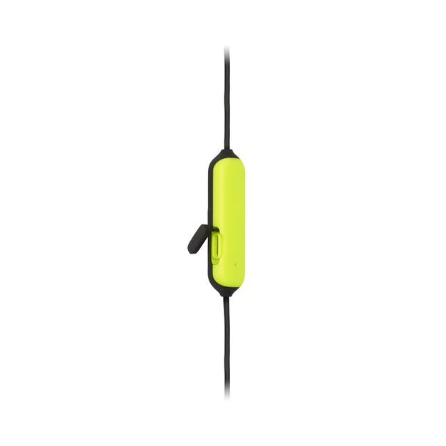 JBL Endurance RUNBT - Green - Sweatproof Wireless In-Ear Sport Headphones - Detailshot 2