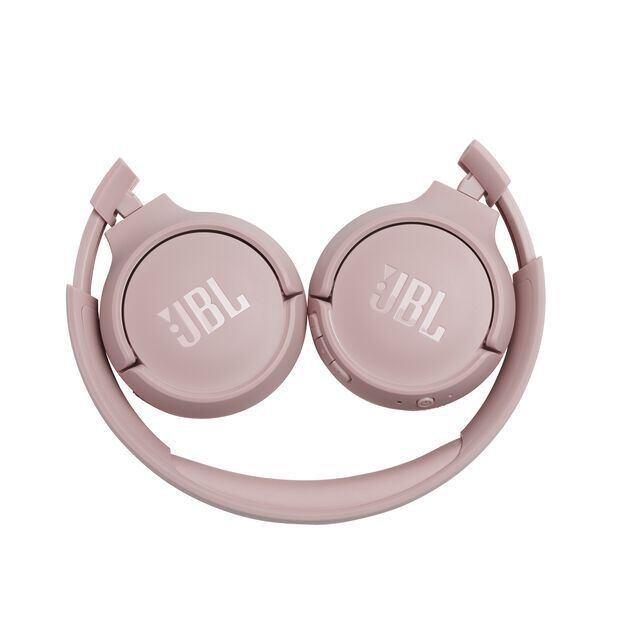 JBL TUNE 500BT - Pink - Wireless on-ear headphones - Detailshot 2