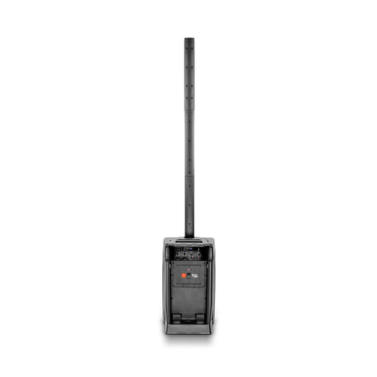 JBL EON ONE - Black - Award-Winning, All-in-One, 6 Channel Linear-Array PA System - Back