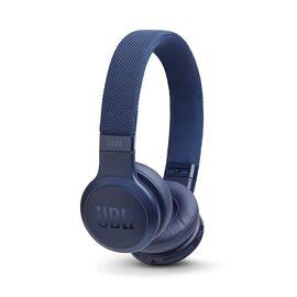 JBL LIVE 400BT - Blue - Your Sound, Unplugged - Hero
