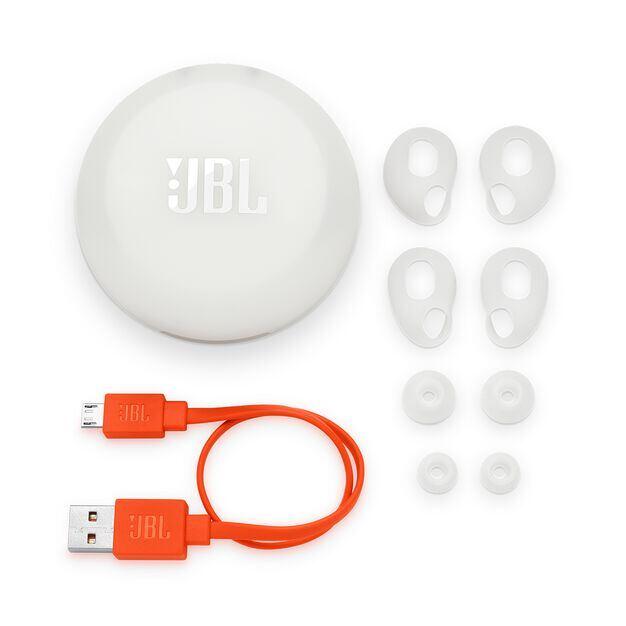 JBL Free X - White - Truly wireless in-ear headphones - Detailshot 3