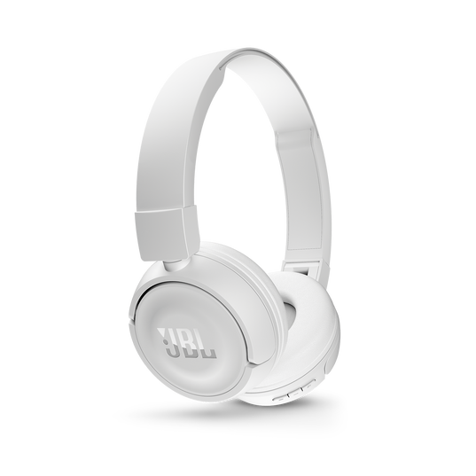 JBL T450BT - White - Wireless on-ear headphones - Detailshot 2