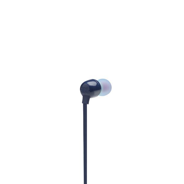 JBL TUNE 115BT - Blue - Wireless In-Ear headphones - Back