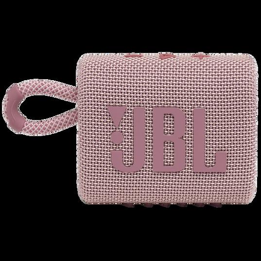 JBL GO 3 - Pink - Portable Waterproof Speaker - Front