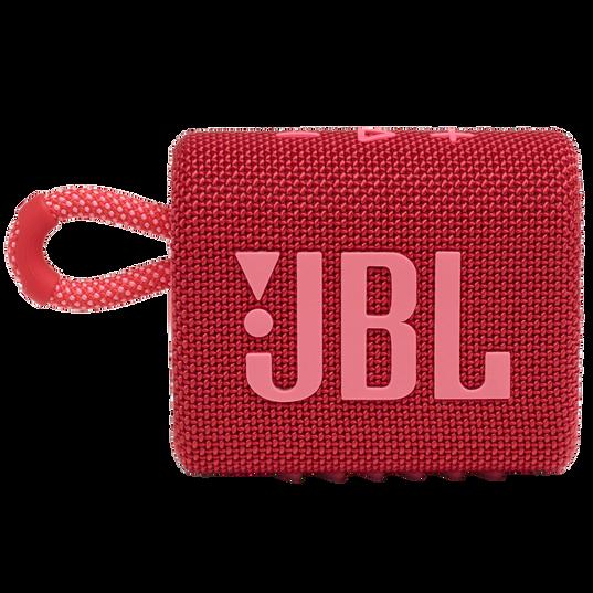 JBL GO 3 - Red - Portable Waterproof Speaker - Front