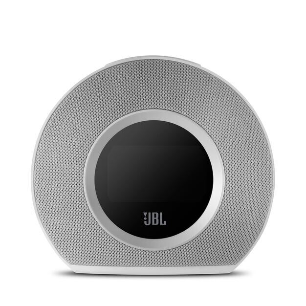 JBL Horizon - White - Bluetooth clock radio with USB charging and ambient light - Detailshot 2