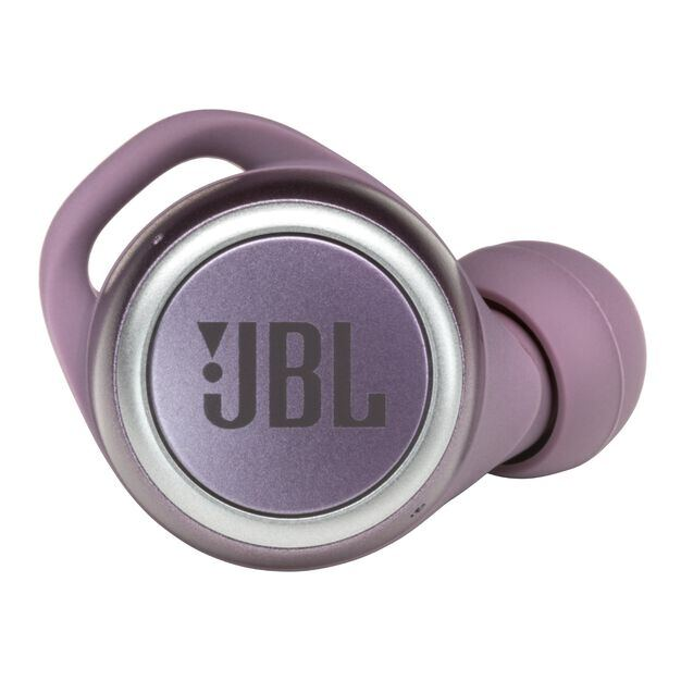 JBL LIVE 300TWS - Purple - True wireless in-ear headphones with Smart Ambient - Detailshot 2