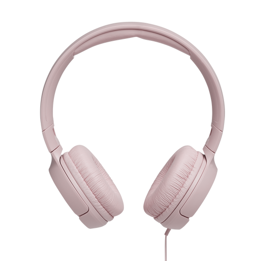 JBL TUNE 500 - Pink - Wired on-ear headphones - Front