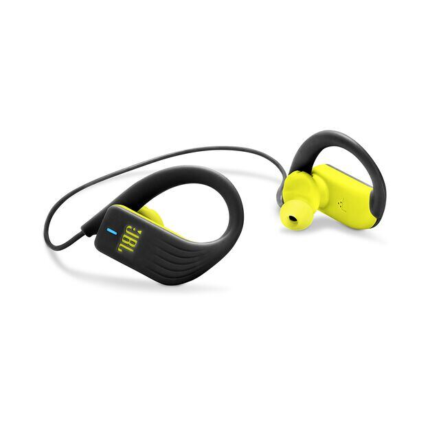 JBL Endurance SPRINT - Yellow - Waterproof Wireless In-Ear Sport Headphones - Detailshot 1