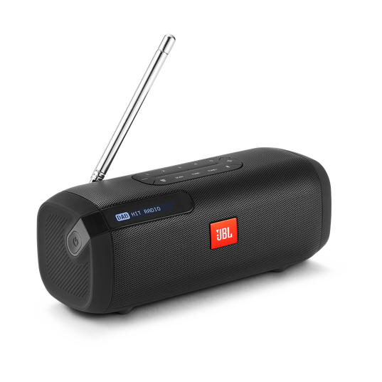 JBL Tuner - Black - Portable Bluetooth Speaker with DAB/FM radio - Hero