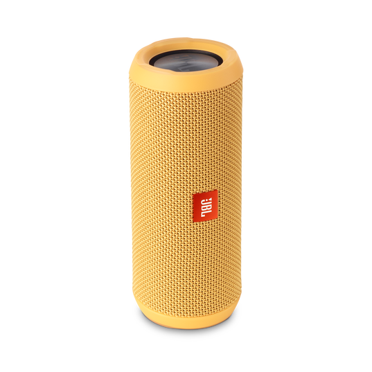 JBL Flip 3 - Yellow - Splashproof portable Bluetooth speaker with powerful sound and speakerphone technology - Detailshot 2