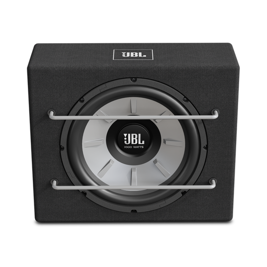 "JBL Stage 1200B Subwoofer - Black - Sealed slim enclosure with 12"" (300mm) subwoofer - Front"