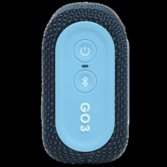 JBL Go 3 - Blue / Pink - Portable Waterproof Speaker - Right