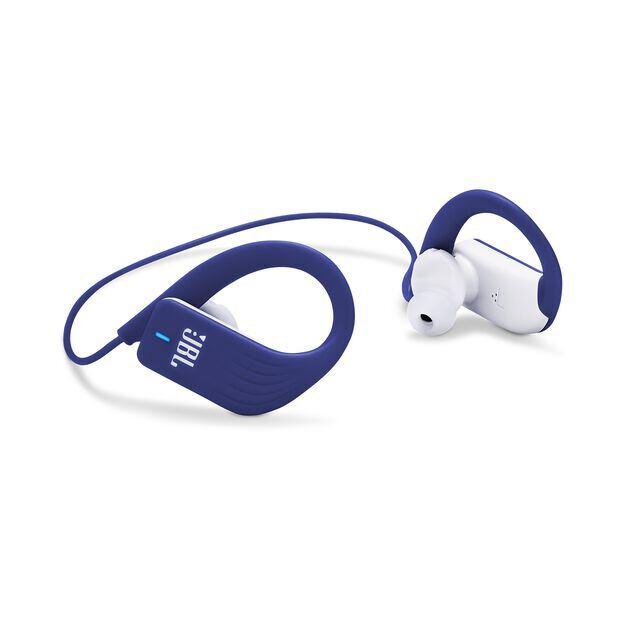 JBL Endurance SPRINT - Blue - Waterproof Wireless In-Ear Sport Headphones - Detailshot 1