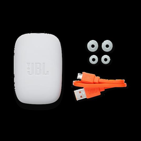 JBL Endurance JUMP - Black - Waterproof Wireless Sport In-Ear Headphones - Detailshot 4