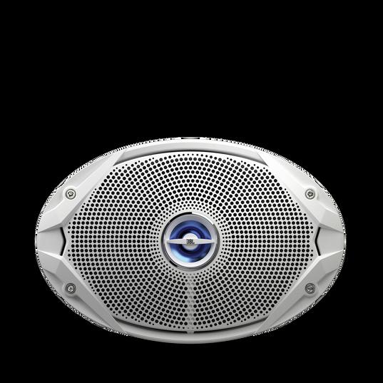 "MS 9520 - White - 6"" x 9"" coaxial, 300 W Marine Speaker - Front"