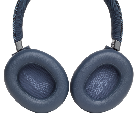 JBL LIVE 650BTNC - Blue - Wireless Over-Ear Noise-Cancelling Headphones - Detailshot 3