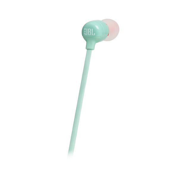 JBL TUNE 110BT - Green - Wireless in-ear headphones - Back