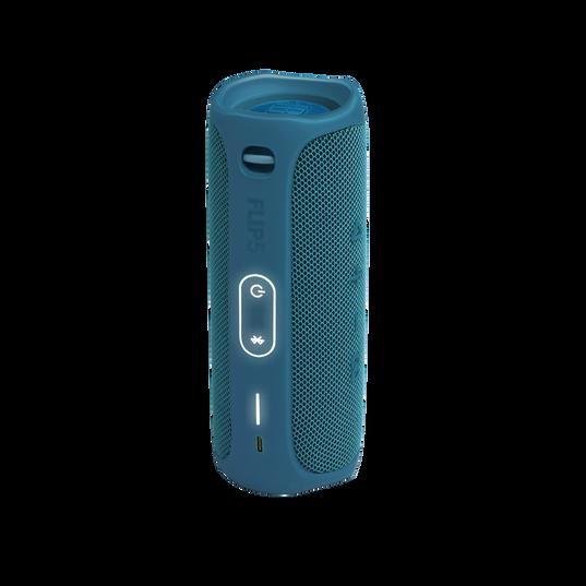 JBL Flip 5 Eco edition - Ocean Blue - Portable Speaker - Eco edition - Back