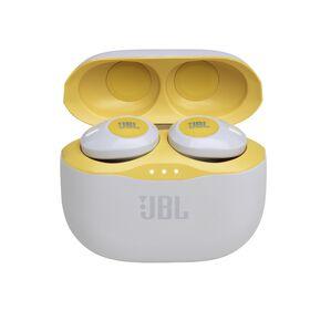 JBL TUNE 120TWS - Yellow - Truly wireless in-ear headphones. - Hero