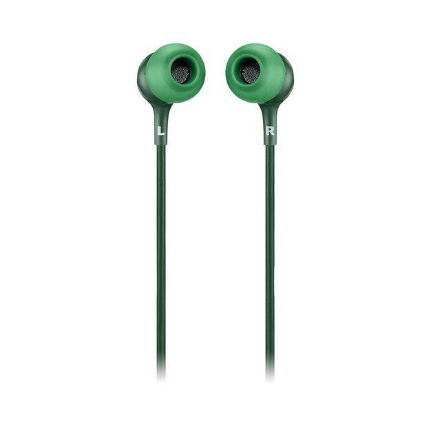 JBL LIVE 100 - Green - In-ear headphones - Back