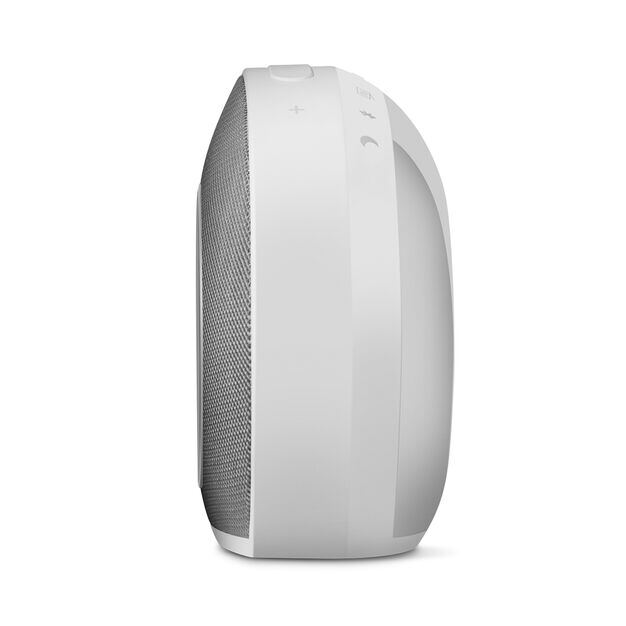 JBL Horizon - White - Bluetooth clock radio with USB charging and ambient light - Detailshot 4
