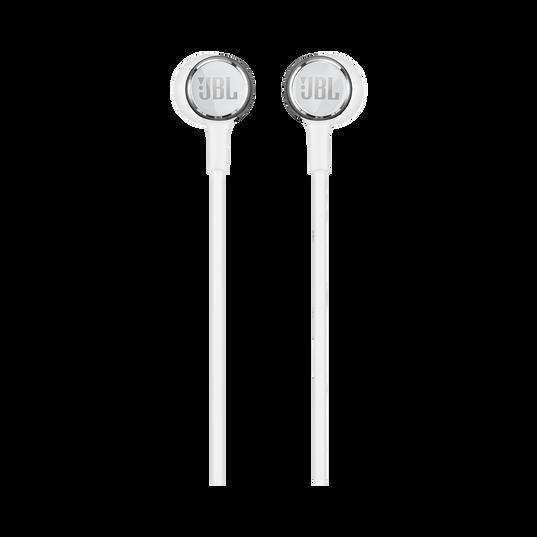 JBL LIVE 100 - White - In-ear headphones - Front