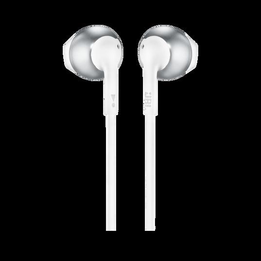 JBL TUNE 205BT - Silver - Wireless Earbud headphones - Back
