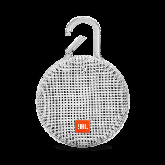 JBL CLIP 3 - Steel White - Portable Bluetooth® speaker - Front