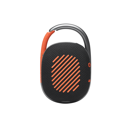 JBL CLIP 4 - Black / Orange - Ultra-portable Waterproof Speaker - Back