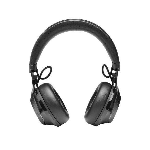 JBL CLUB 700BT - Black - Wireless on-ear headphones - Front