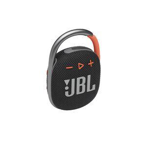 JBL CLIP 4 - Black / Orange - Ultra-portable Waterproof Speaker - Hero