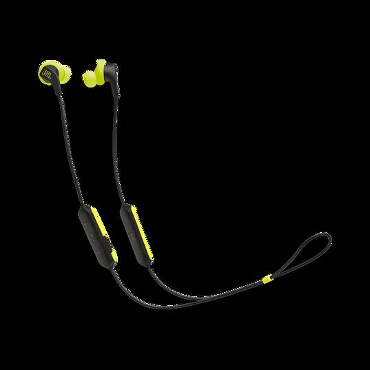 JBL Endurance RUNBT - Green - Sweatproof Wireless In-Ear Sport Headphones - Hero
