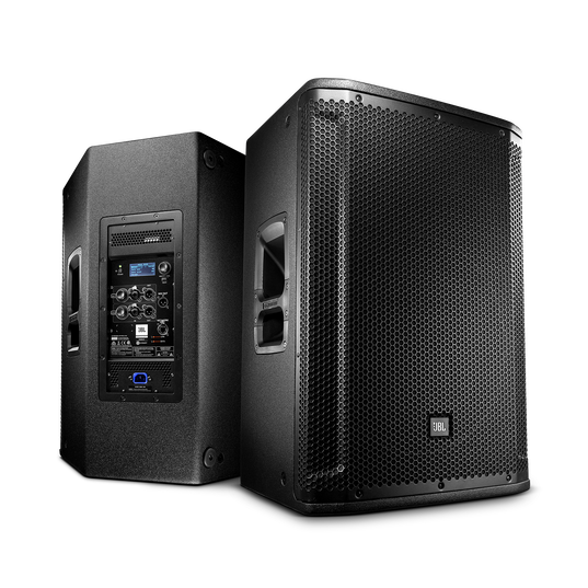 "JBL SRX815P - Black - 15"" Two-Way Bass Reflex Self-Powered System - Detailshot 2"