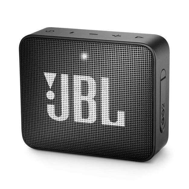 JBL GO 2 - Midnight Black - Portable Bluetooth speaker - Hero