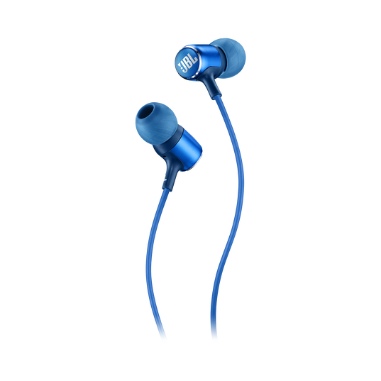 JBL LIVE 100 - Blue - In-ear headphones - Detailshot 1