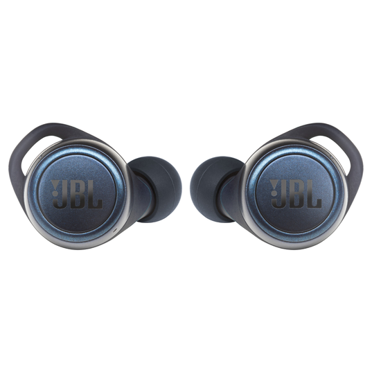 JBL Live 300TWS - Blue - True wireless in-ear headphones with Smart Ambient - Front