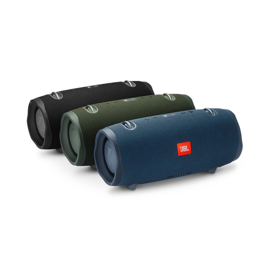JBL Xtreme 2 - Midnight Black - Portable Bluetooth Speaker - Detailshot 3