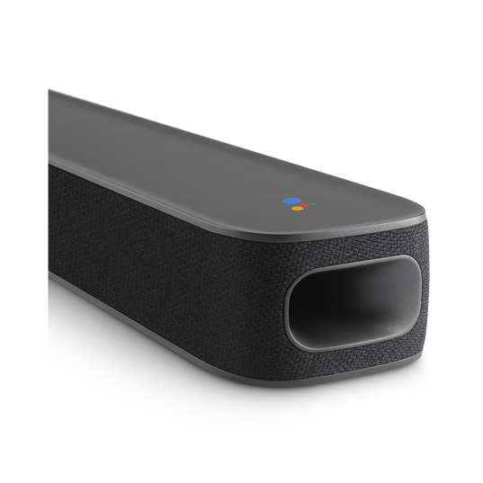 JBL LINK BAR - Grey - Voice-Activated Soundbar with Android TV and the Google Assistant built-in - Detailshot 1