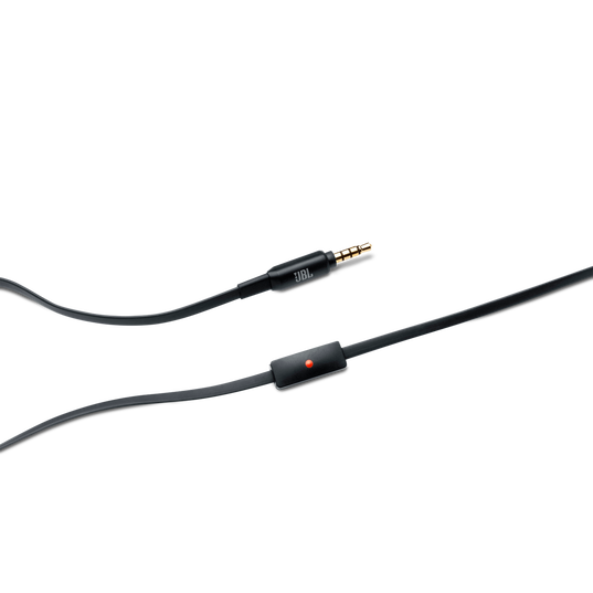J22a - Black - High-performance In-Ear Headphones for Android Devices - Detailshot 1