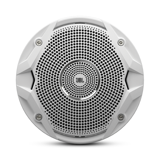 "MS 6510 - White - 6"" Dual Cone, 150W Marine Speaker - Front"