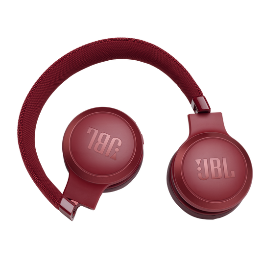 JBL LIVE 400BT - Red - Your Sound, Unplugged - Detailshot 2