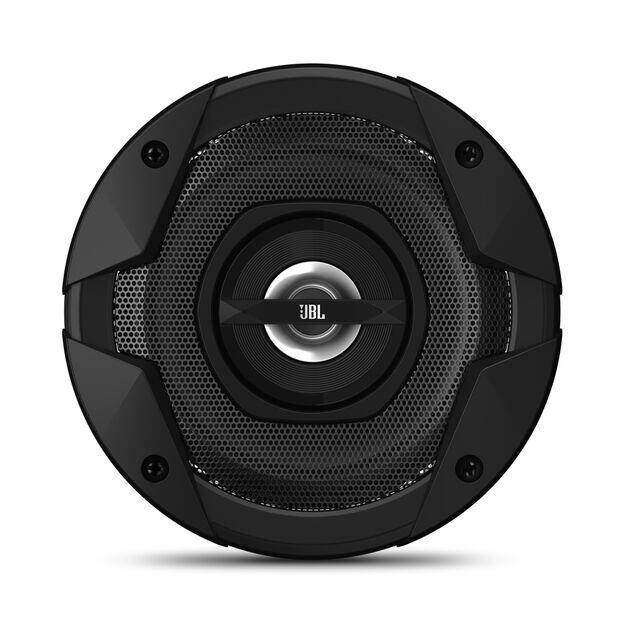 """GT7-4 - Black - 4"""" coaxial car audio loudspeaker, 90W - Front"""