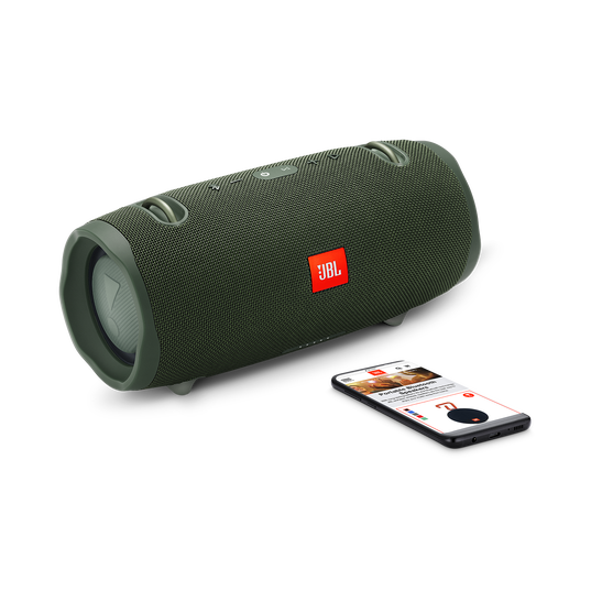 JBL Xtreme 2 - Forest Green - Portable Bluetooth Speaker - Detailshot 1