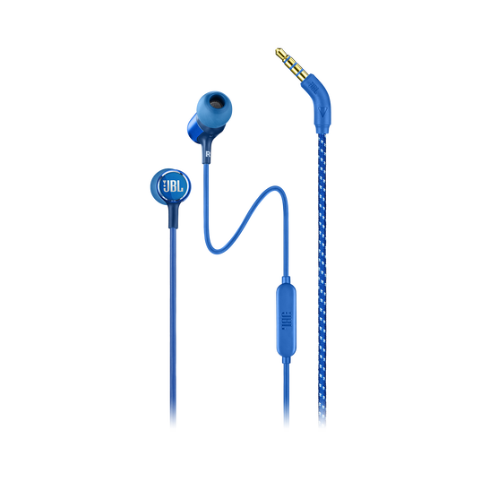 JBL LIVE 100 - Blue - In-ear headphones - Hero