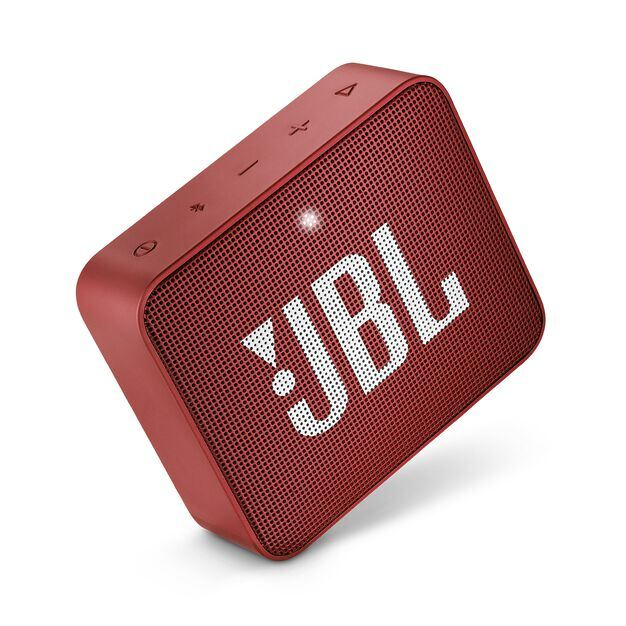JBL GO 2 - Ruby Red - Portable Bluetooth speaker - Detailshot 1